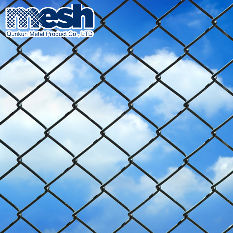 China Galvanized Diamond Chain Link Fence for Sale - China Chain ...
