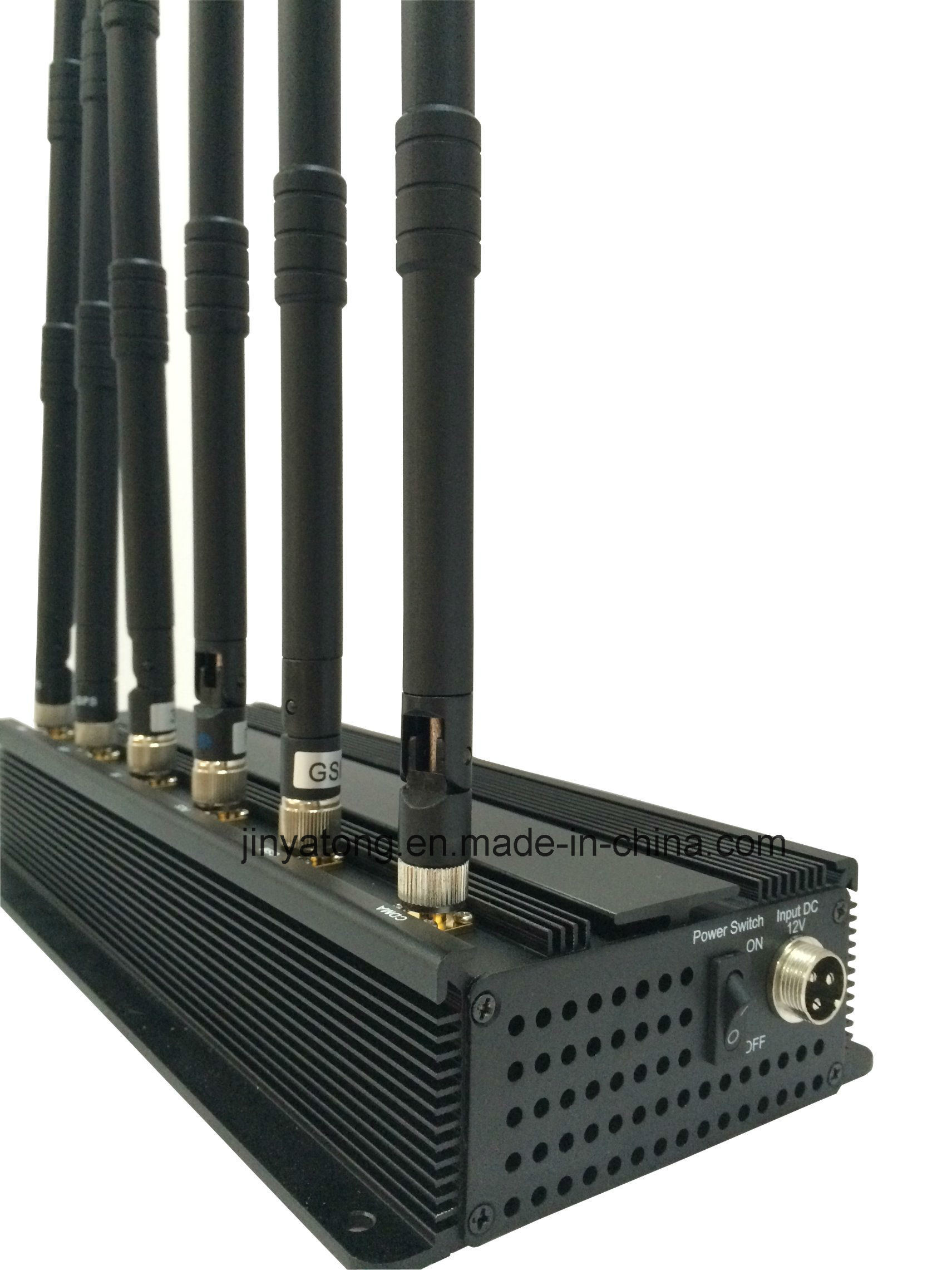 6 Antenna 315MHz 433MHz Signal Blocker RF Signal Jammer