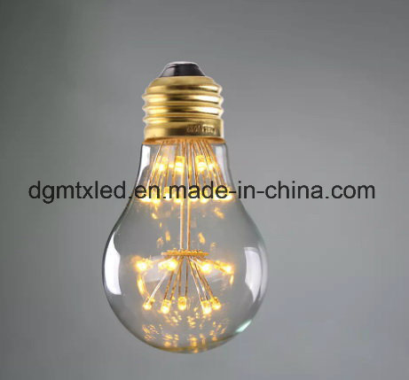 MTX LED lamp e27 LED bulb christmas string lights 110V 220V filament bulb g95 holiday lights christmas decoration for home