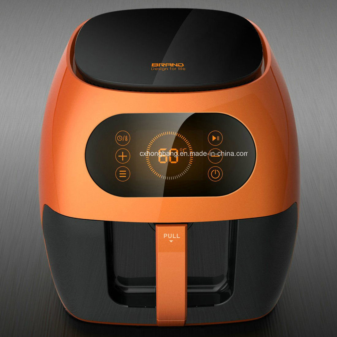 LCD Display Large Capacity Electrical Air Fryer Without Oil (HB-808)