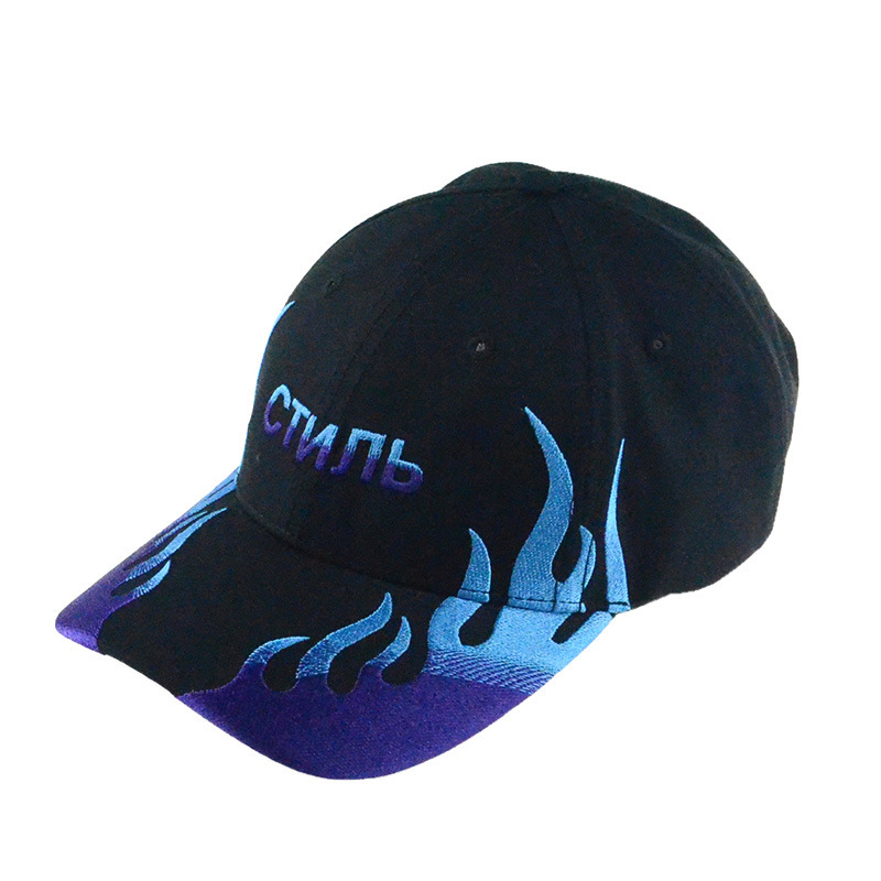 Leisure Hat 6 Panels Cotton Embroidery Baseball Cap Racing Caps