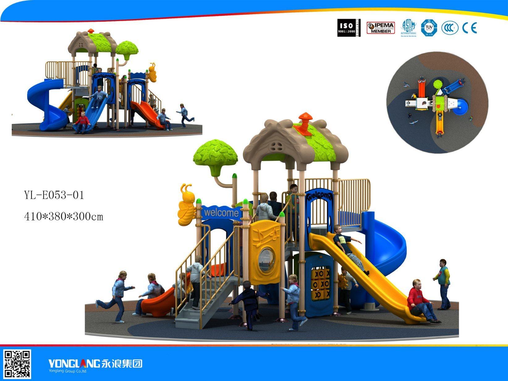 Mini Series Playground Equipment Slide (YL-E053-01)