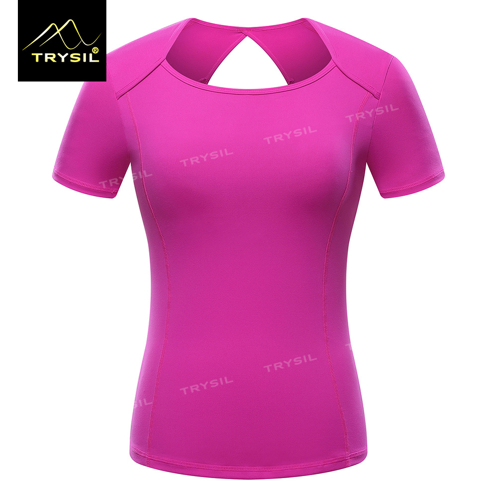 Yoga T Shirt Short Sleeve Fitness Tops