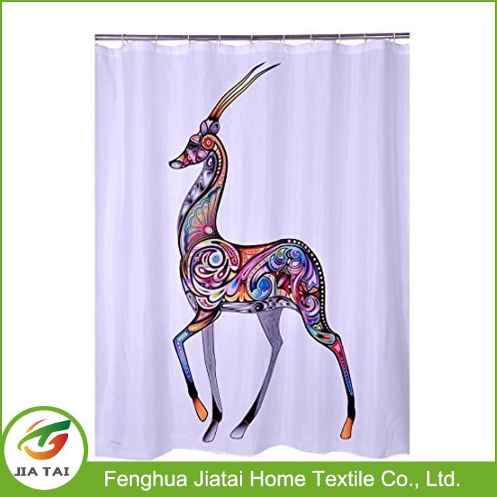 New Shower Curtain Designs Decorative Zebra Shower Curtain