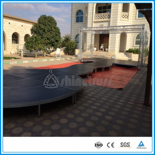 Heavy Duty Outdoor Aluminum Portable Stage Concert Stage Event Stage