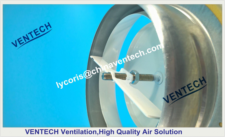 Metal Air Valve Exhaust Disc Air Valve Air Diffuser