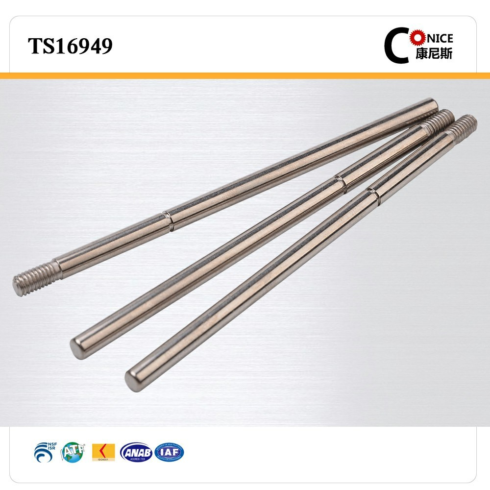 ISO Factory CNC Machining Precision Steering Worm Shaft