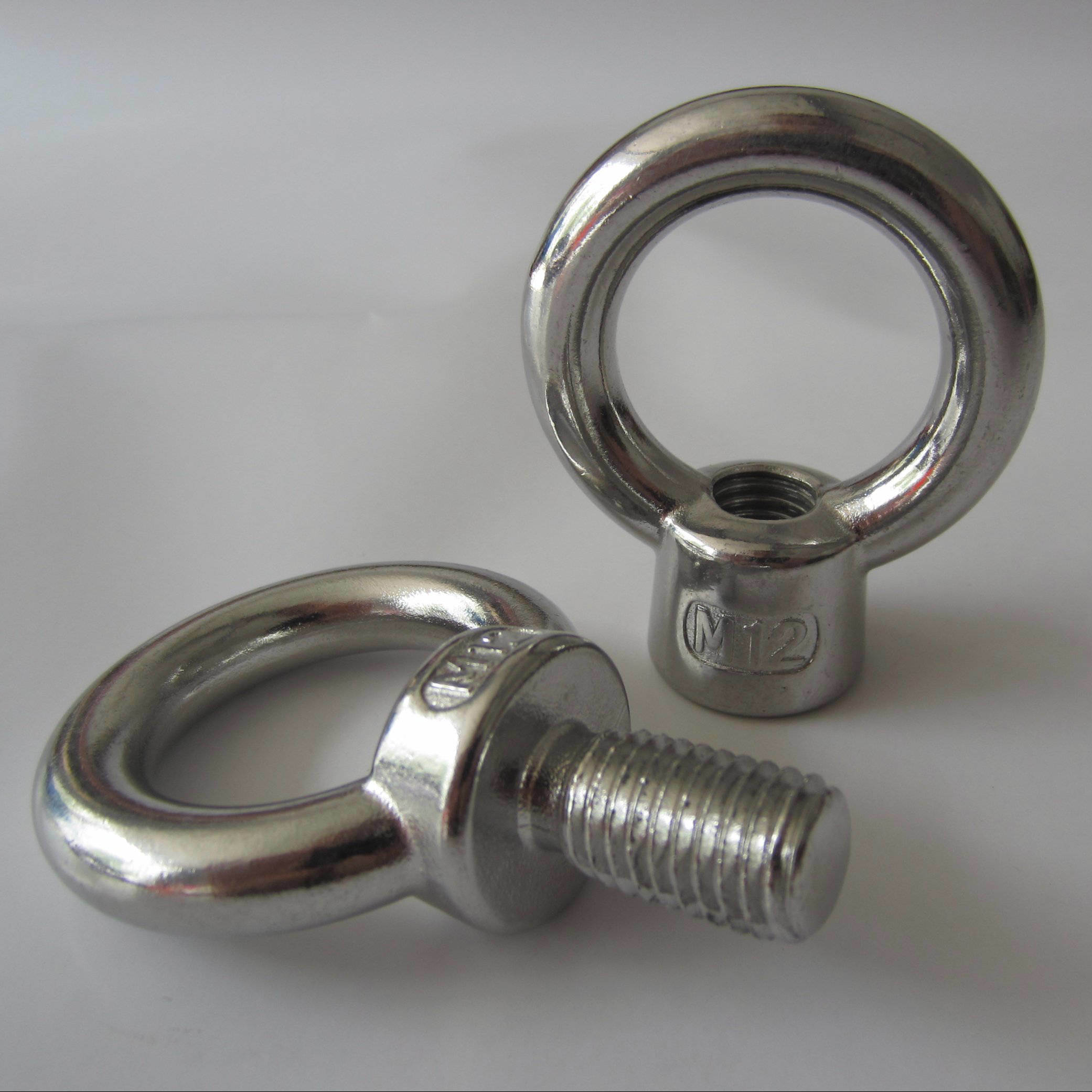 Stainless Steel Eye Screw, JIS 1168 Eye Bolt and JIS1169 Eye Nut
