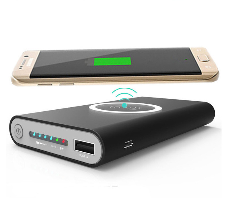 Wireless Mobile Power Bank Qi Wireless Charger