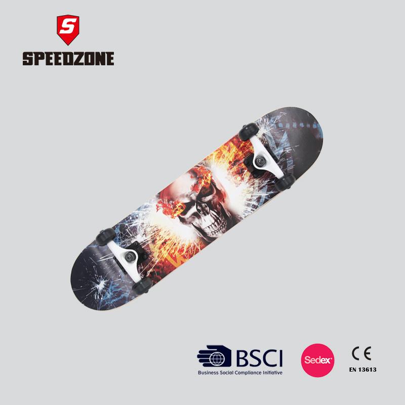 Canadian Maple Double Kick Tail Professional Skateboard