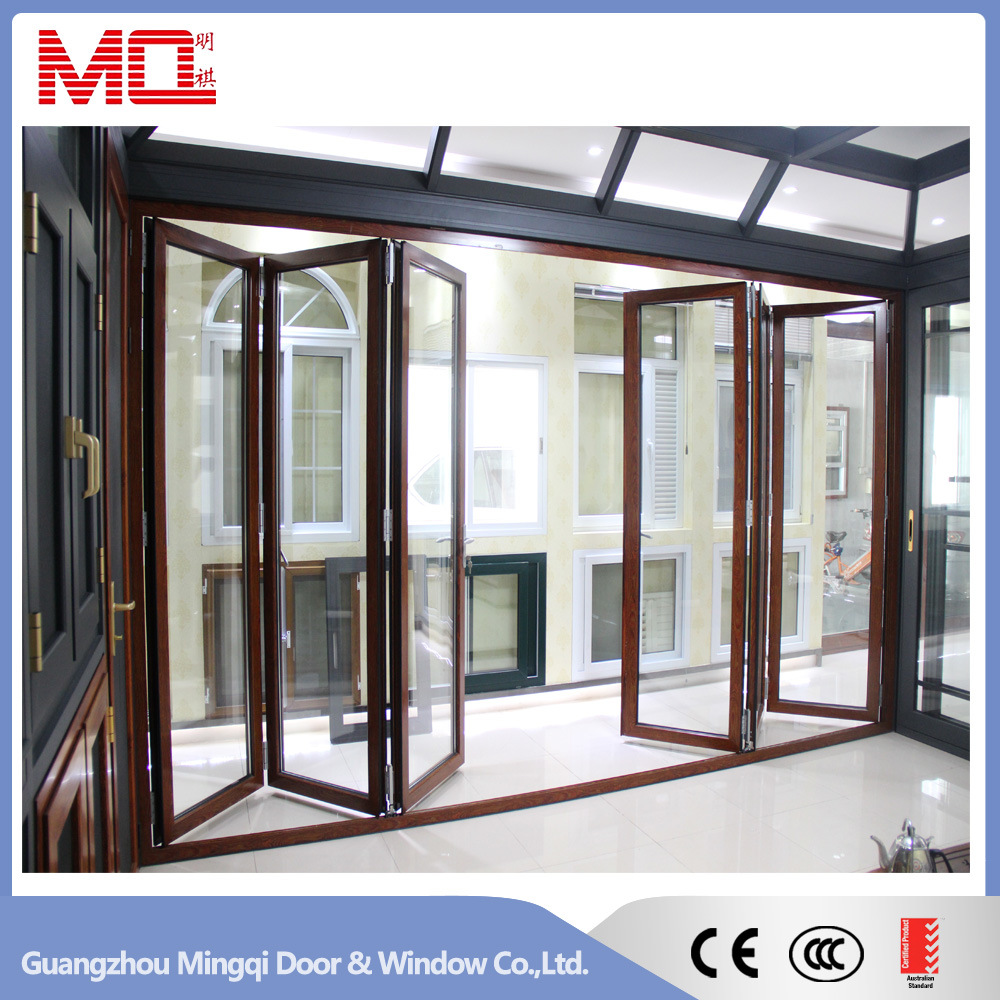 Thermal Break Exterior Aluminum Bifold Door
