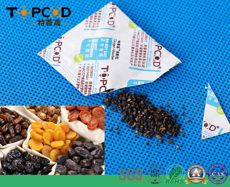 Oxygen Absorbent Used in U. S for Pet Foods Packaging Without Toxic