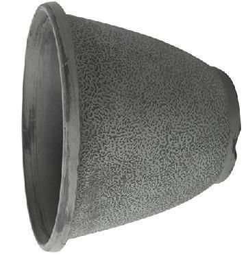 Grey Stone Pattern Plastic Flower Pot Wedding Pot