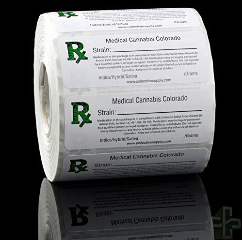 Medical Adhesive Sticker Labels