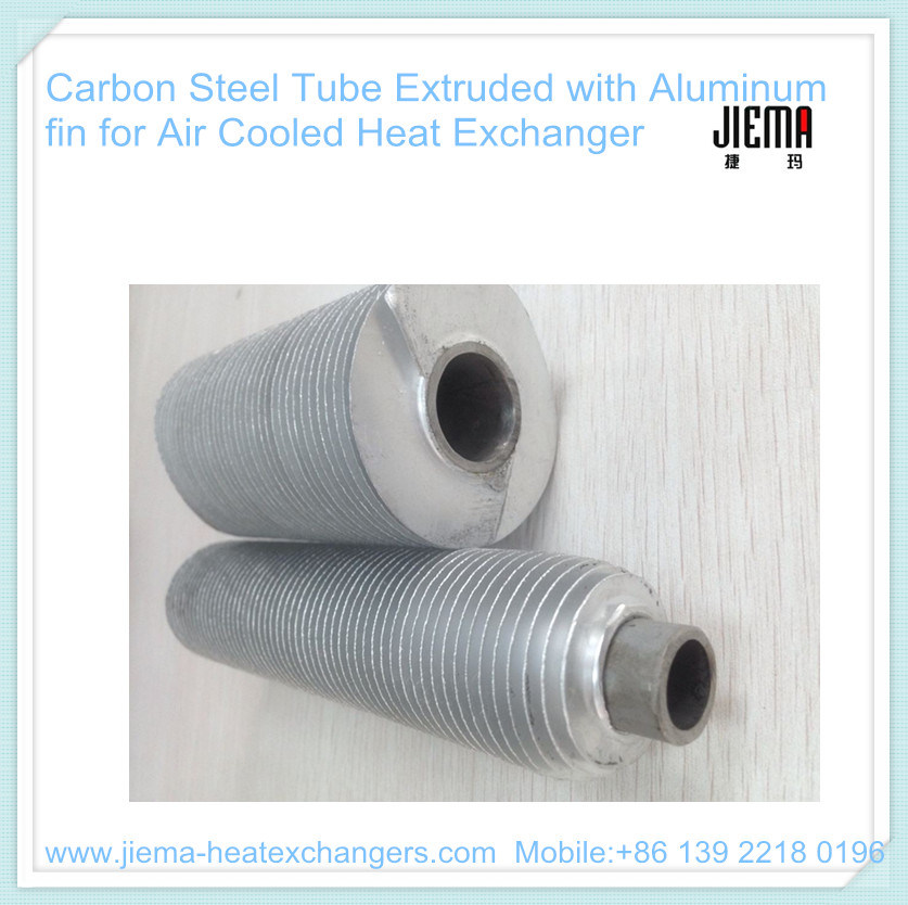 Aluminum Copper Extruded Fin Tube for Heating, Cooling and Drying