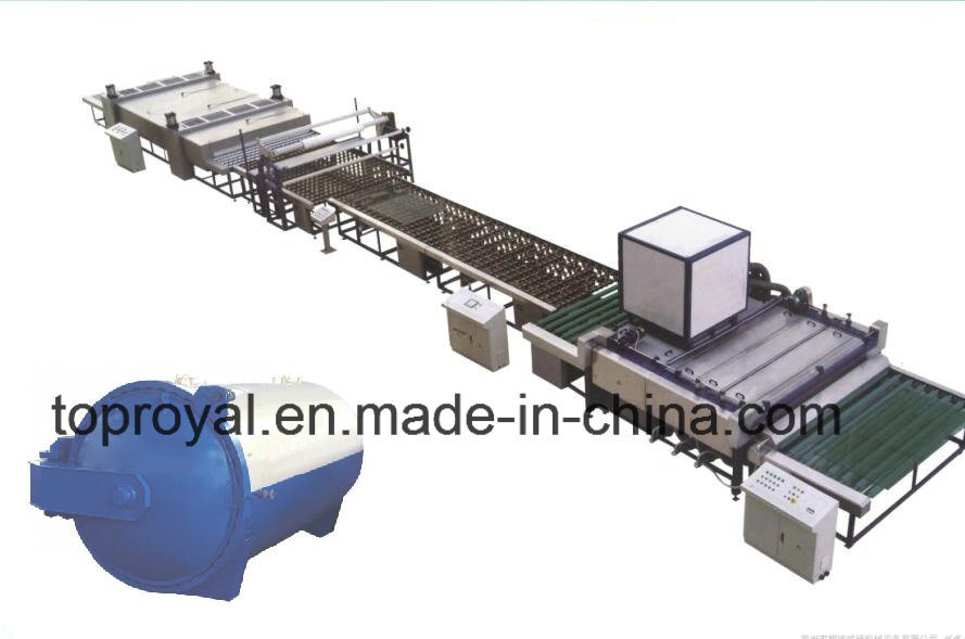 Semi Automatic Laminated Glass Production Line