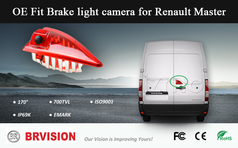 Master Custom 2015 Brake Light Camera for Renault