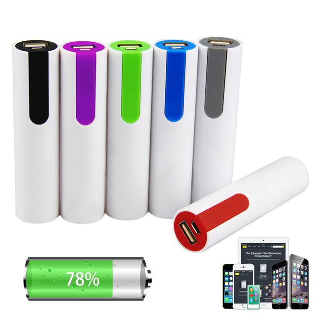 Portable Power Bank 18650 Battery Charger 2200mAh 2400mAh 2600mAh