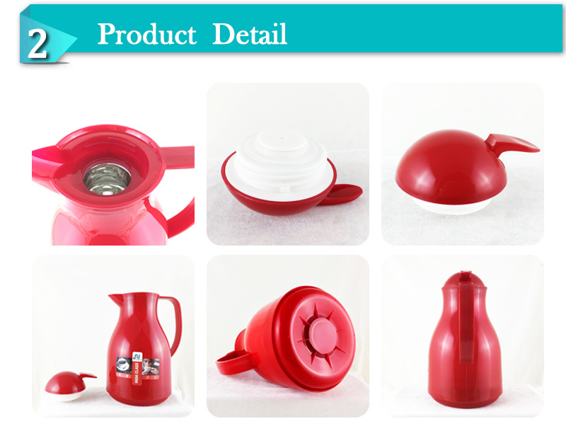 Promotion Factory Price Plastic Body Glass Liner Coffee Thermos Jug