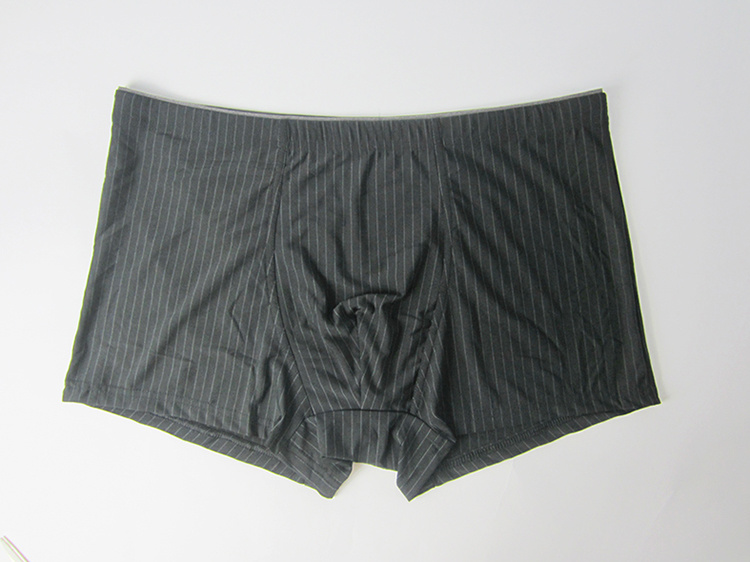 Mens Cotton Black Boxer Briefs