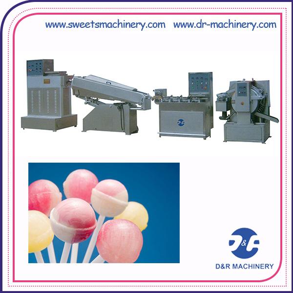 Economical Production Line Lollipop Die-Forming Candy Machine