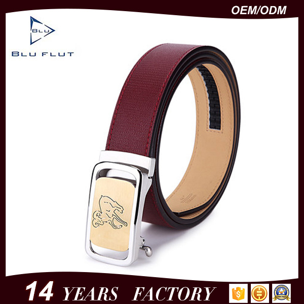 Fashion Style Customized Logo Top Grade Cow Leather Belts for Men