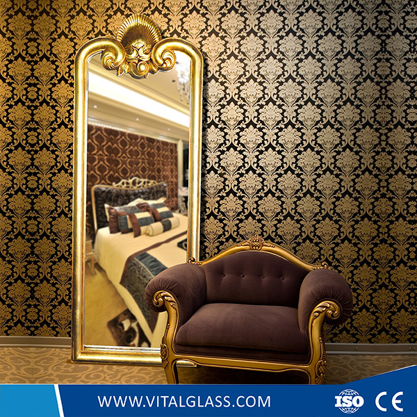 Clear/Silver/Aluminum/Copper Free/Beveled/Bathroom/Mosaic/Antique/Decorative/Safety/Solar Mirror/Mirrors with Ce