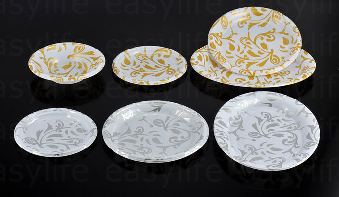 Various Disposable PS Plastic Printed Plate
