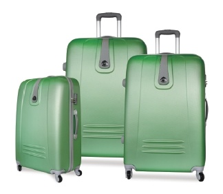 ABS Hard Trolley Case Luggage Set in 20/24/28 Inch
