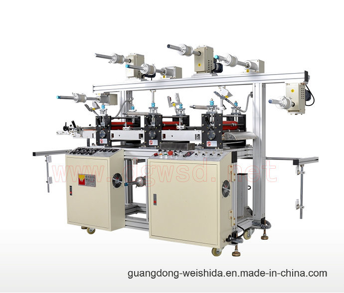 Wt300 Three Seater Multifuntional Hi-Speed Precision Laminating Machine