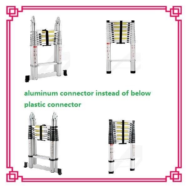 All Aluminium Connect 3.8m Single Aluminum Telescoping Ladder