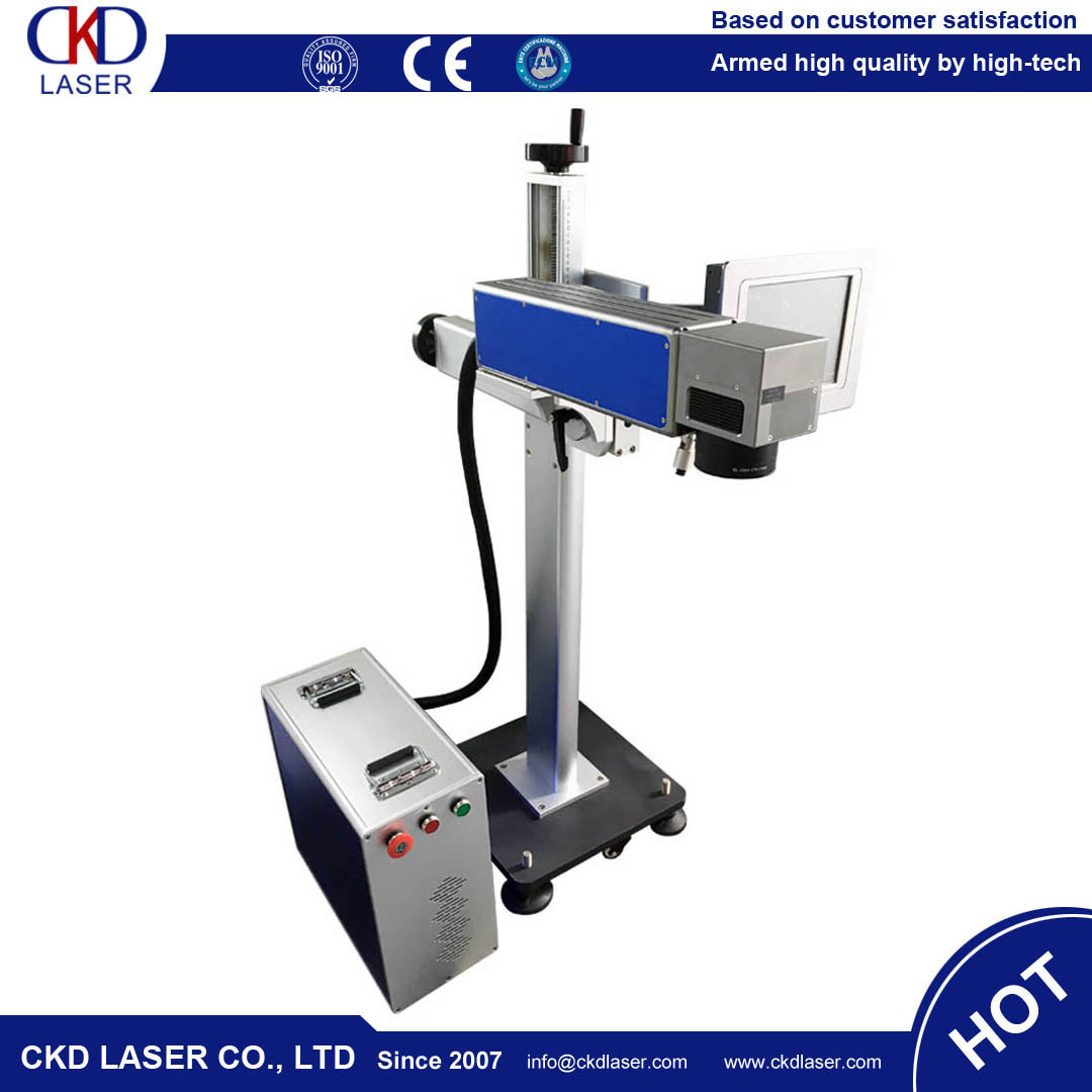 Flying Online Fiber Laser Marker Marking Machine