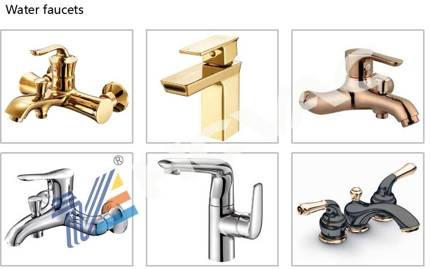 Sanitary Ware Faucet PVD Ion Coating Machine, Gold Plating Machine