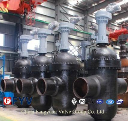 China Best Carbon Steel Flat-Plate Gate Valve (Z43)