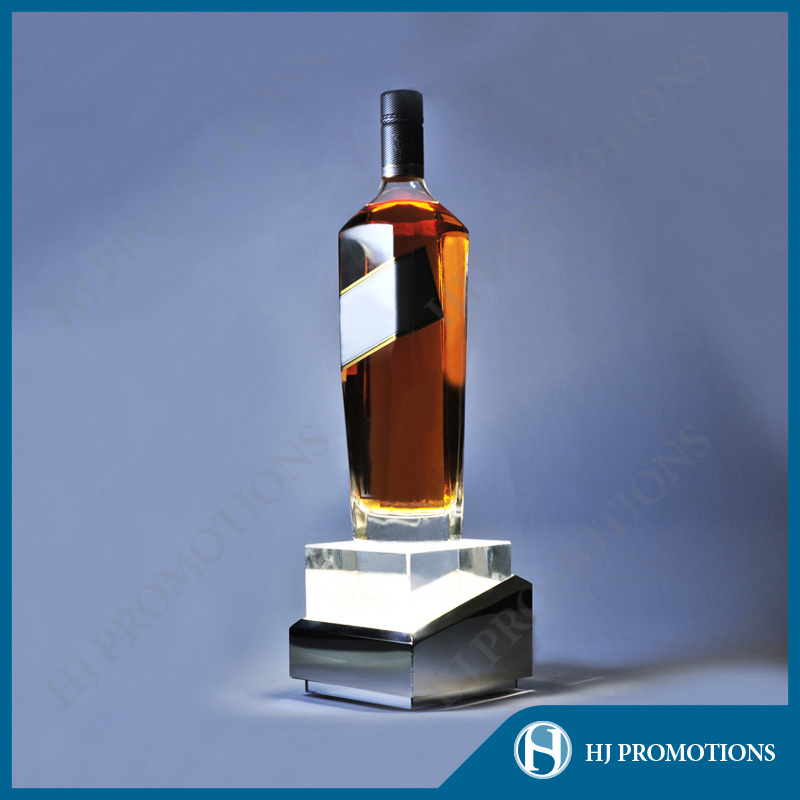Premium-Quality Bottle LED Display Base (HJ-DWL03)