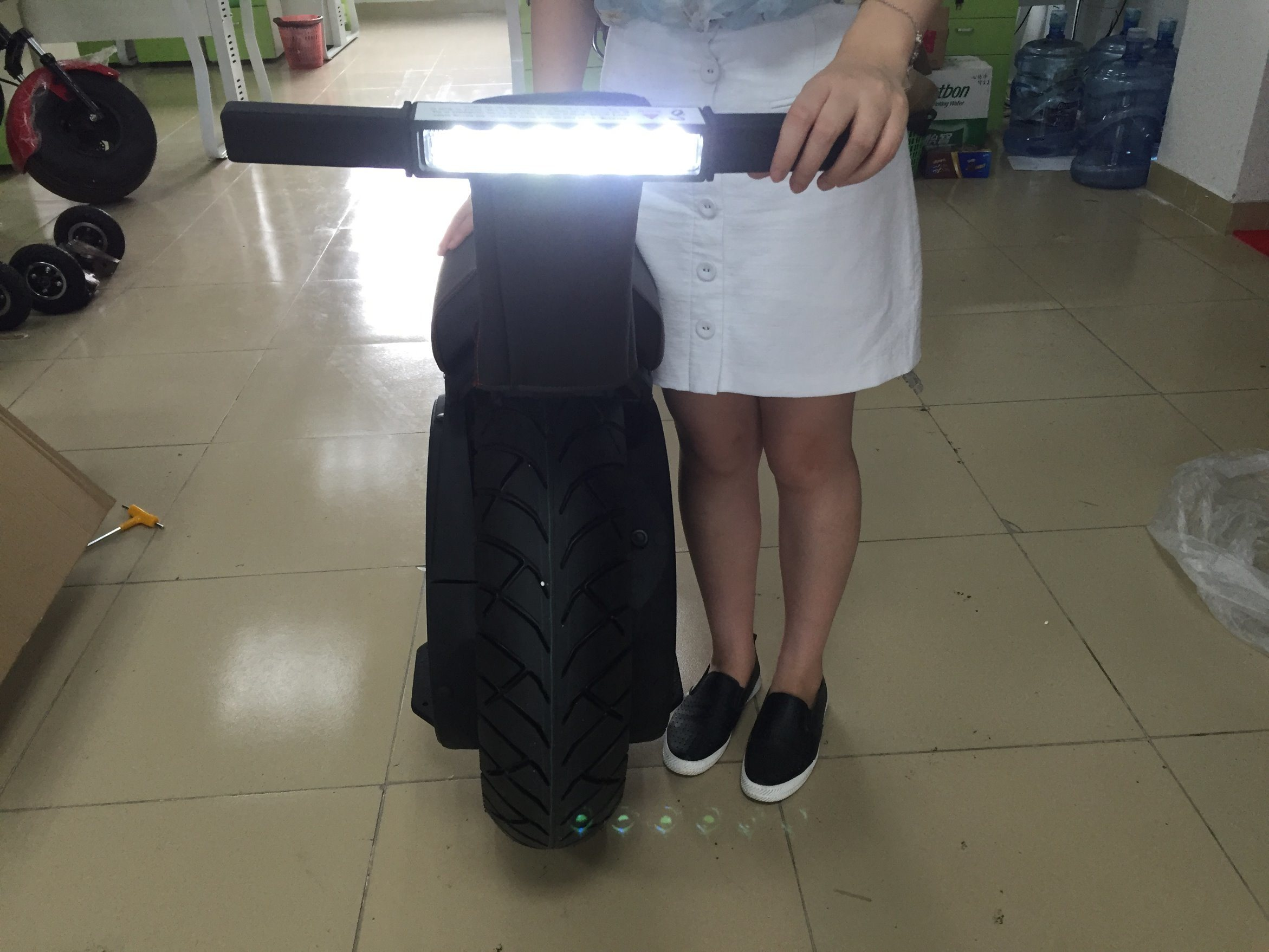 Powerful 17 Inch Electric Motorcycle Self Balancing electric Scooter