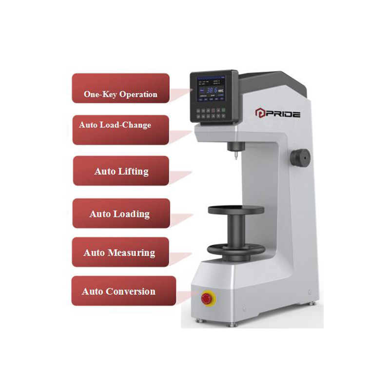 Full-Auto Rockwell Hardness Tester with Software Compensation Function