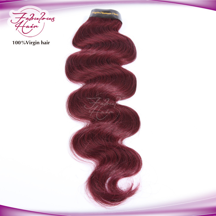 Unprocessed No Smell More Color Brazilian Virgin Human Hair