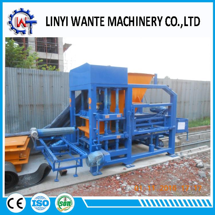Qt4-18 Used Hollow Brick/Block Making Machine Manufacturers