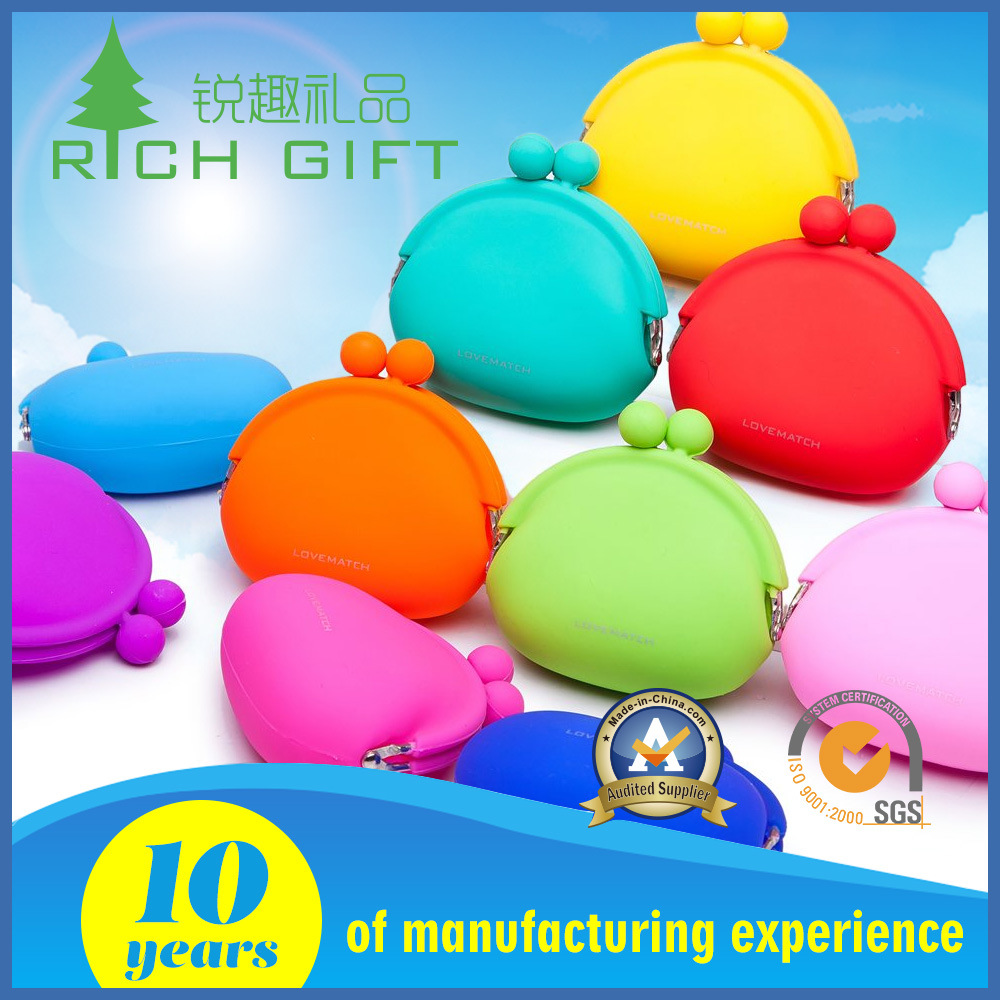 Novelty Fashion Silicone Keychain Purse Coin Purse/Wallet/Pouch