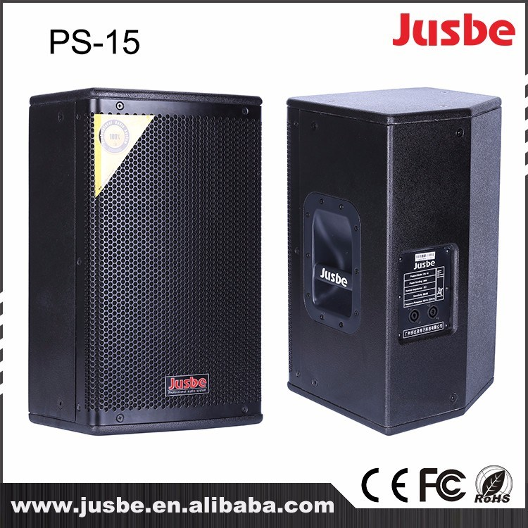 PS-15 400-800W 15 Inch Full-Frequency Professional Multimedia Speaker