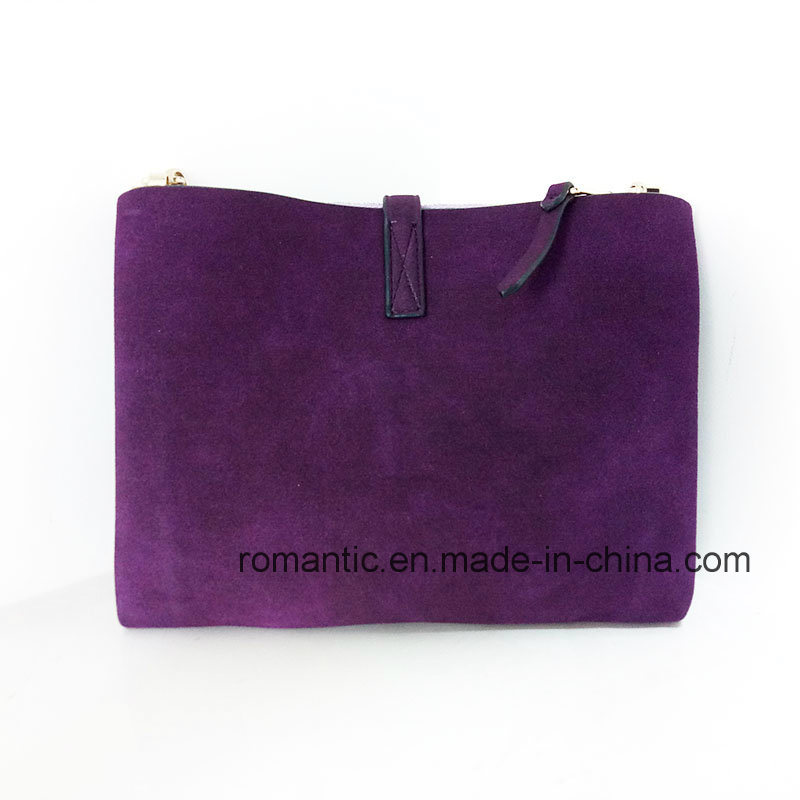 Promotional Mini Lady Fur Leather Handbags Genuine Bag (NMDK-042003)
