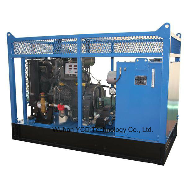 Hpu-120-De Diesel Engine Drive Hydraulic Power Unit for Oil and Gas Drilling Rig/Other Hydraulic Equipment/Customized