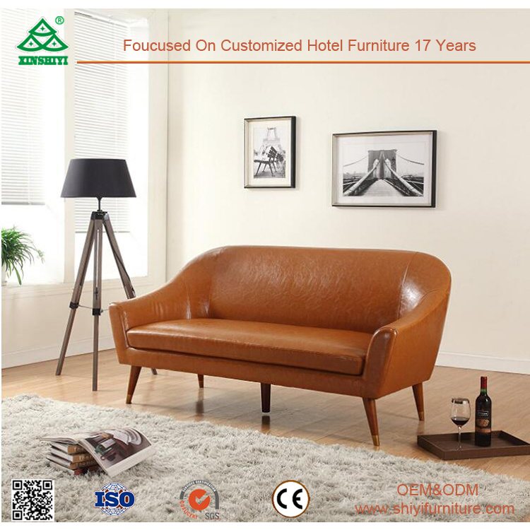 Customized Wooden Frame Leather Finishing