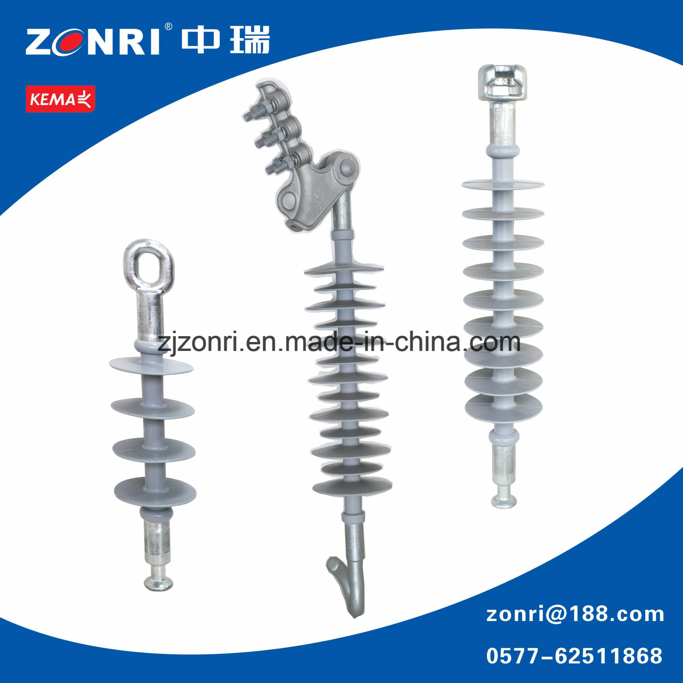 Composite Tension Insulator / Suspension Insulator (FXBW-24/70 (UT)) 24kv 70kn