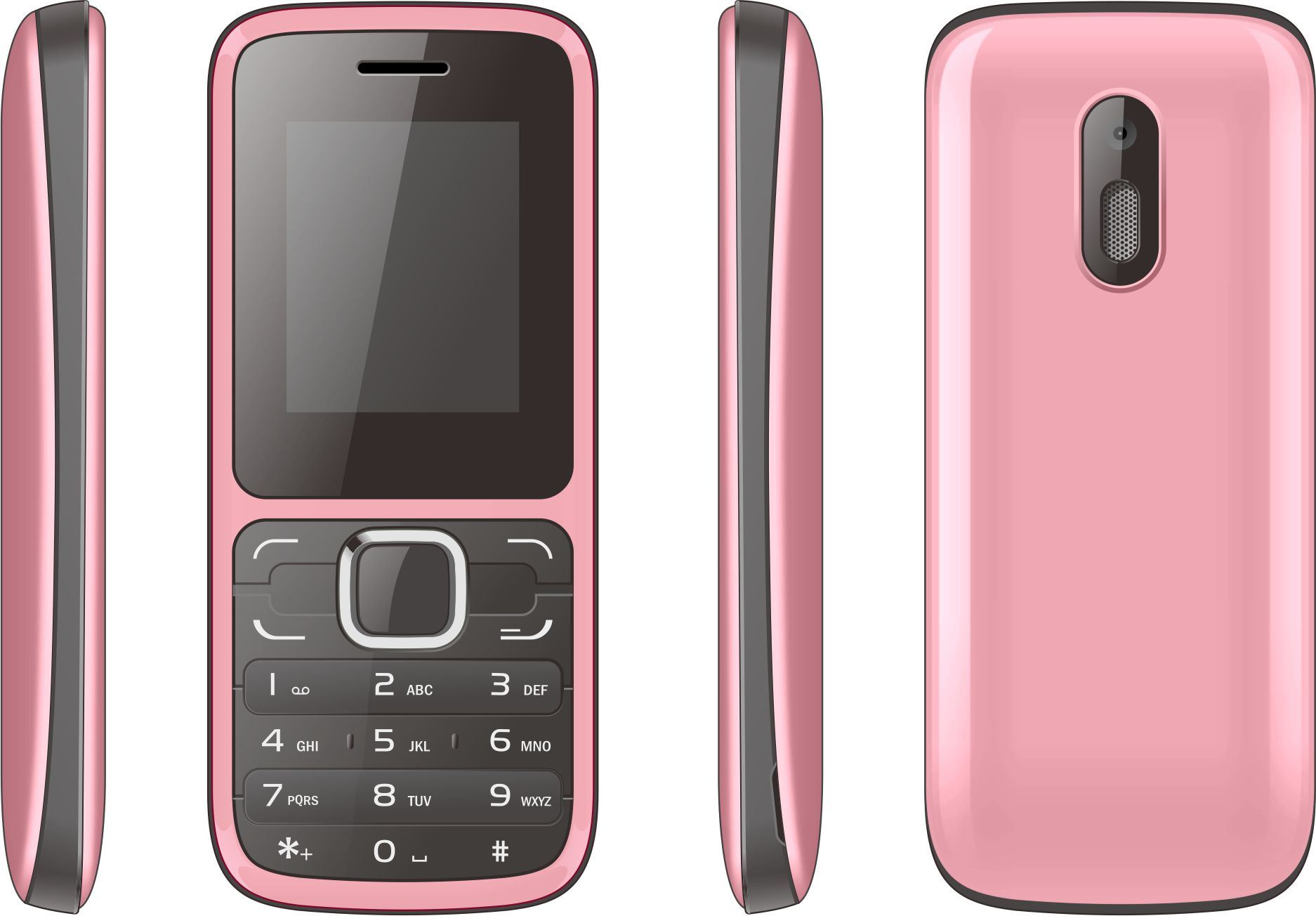 OEM ODM 1.8 Inch Screen Dual SIM GSM Cell Phone New Type Feature Mobile Phone A22