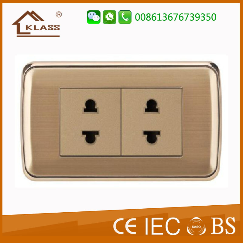 Hot Sell Germany EU Europe Schuko Wall Socket