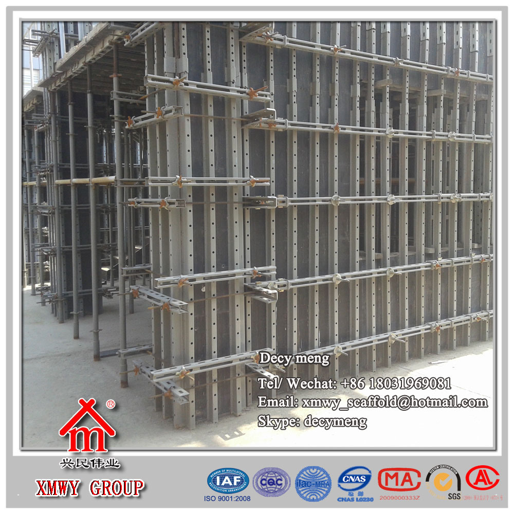 Patent Product Concrete Wall Formwork System with Factory Price