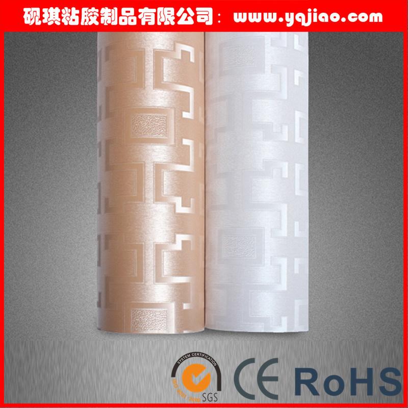 Flower Design PVC Wallpaper for Home Decoration
