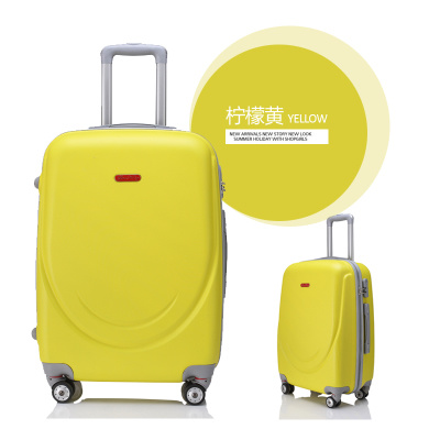 ABS Zipper Styly Travel Case 18/20/24/28 Inch with Movable Wheels